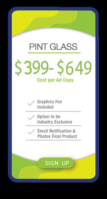 AdSpaceUSA Pint Price